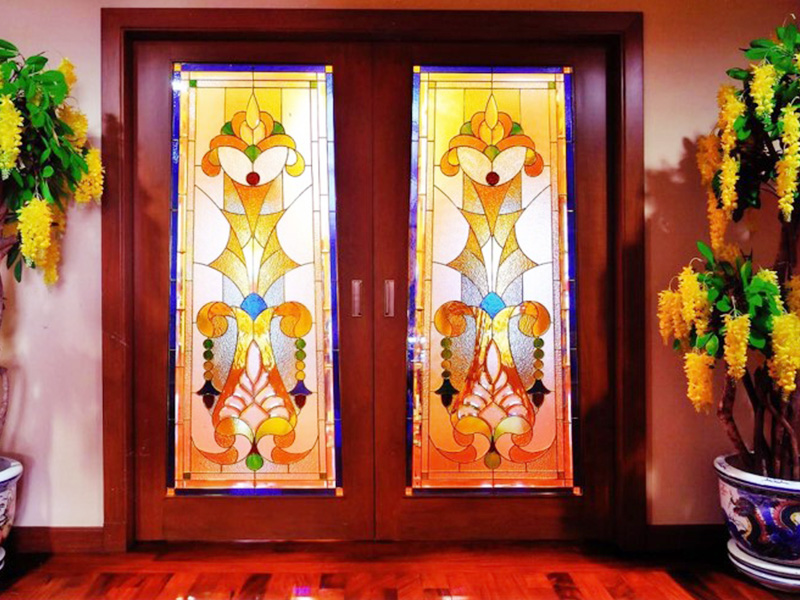 Stained Glass ( Brass Rails ) 6