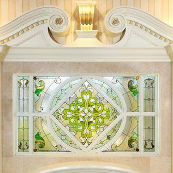 สเตนกลาสรางตะกั่ว Stained Glass ( Lead Rails )