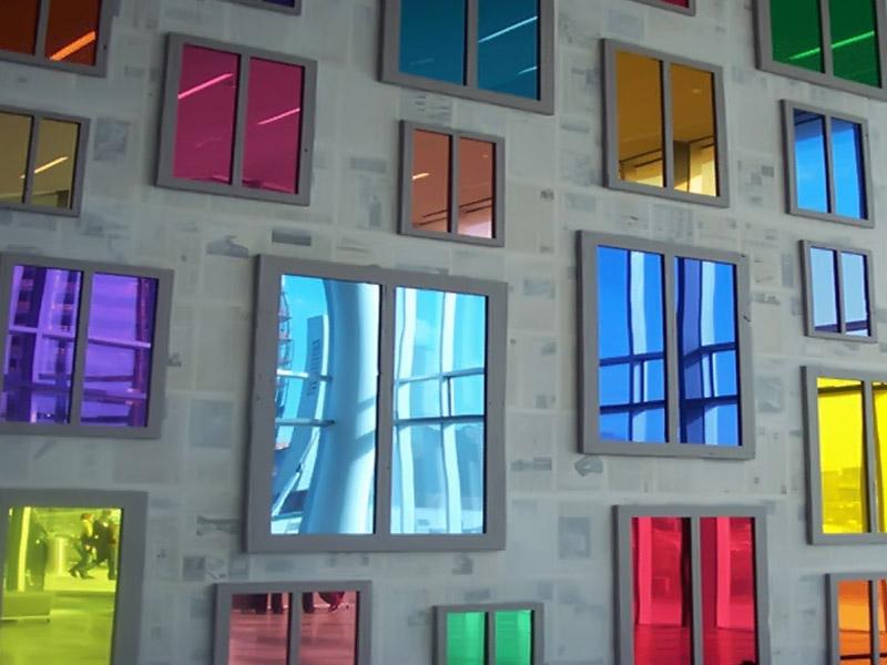กระจกเงาสี Colour Mirror Glass