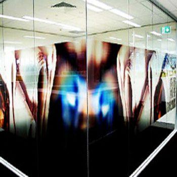 กระจกพิมพ์ลาย Printed Glass