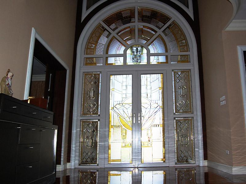 สเตนกลาส, กระจกสี Stained Glass