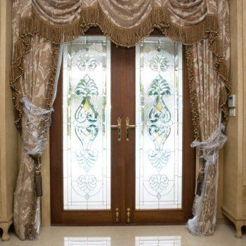 ประตูสเตนกลาส Doors Stained Glass